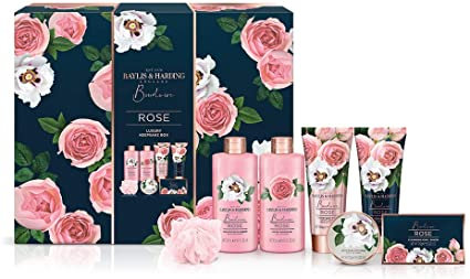 BAYLIS & HARDING - Flower set box Boudoure Luxury box