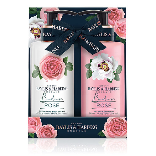 BAYLIS  HARDING - Flower set Hand wash & Body lotion