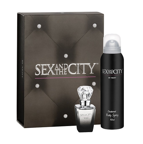 Sex and the City  by night ( Perfume pack Perfume and body spray )