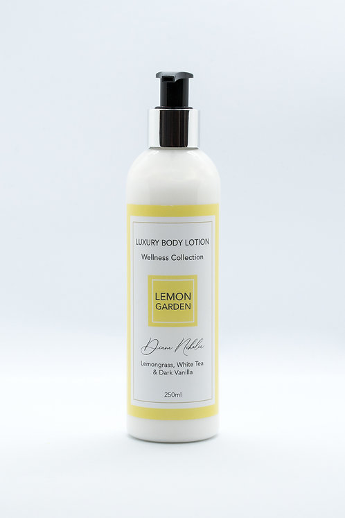 Luxury Body Lotion - LEMON GARDEN Wellness Collection