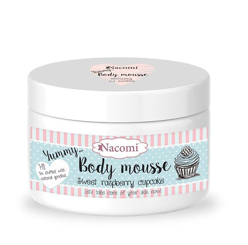 Body Mousse - Sweet Raspberry Cupcake