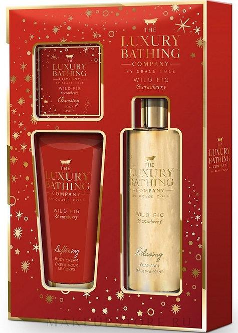 The Luxury Bathing ( Wild Fig & Cranberry)