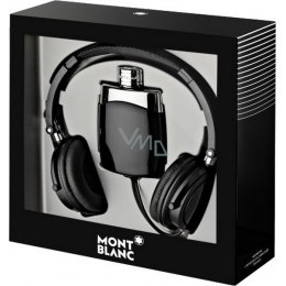 Mont Blanc pack with head phones