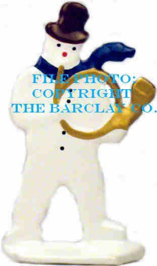 GF-024: Snowman Playing Horn