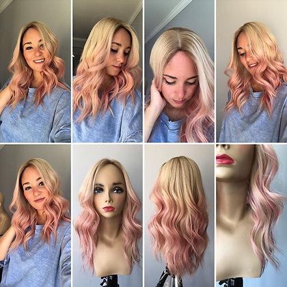 """TCP9563: custom bubblegum pink x blonde 9x10 20"""""""