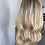 "Thumbnail: TP8212: medium/light creamy blonde with light brown root #7/8 6x7 18"""