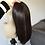 "Thumbnail: Wig sample 18"" dark brown S"