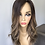 "Thumbnail: TCP12184: 7x8 20"" natural dark brown with caramel blonde balayage 7x8 20"""