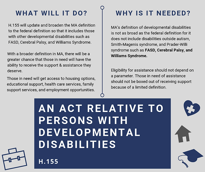 An Act relative to persons with developm