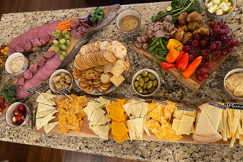 15 Person Charcuterie Boards