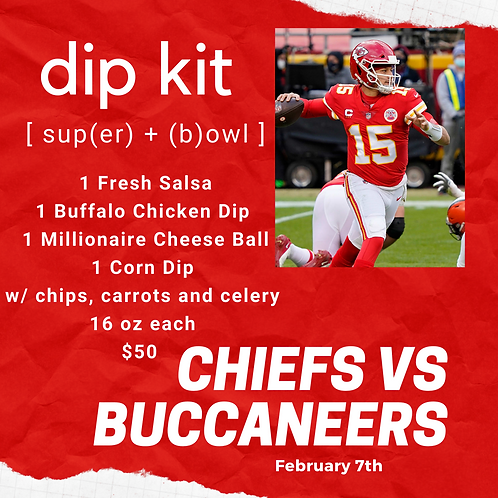 Super Bowl Dip Kit