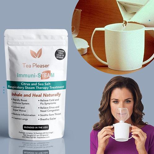 Immuni-STEAM with Inhaler Steam Cup