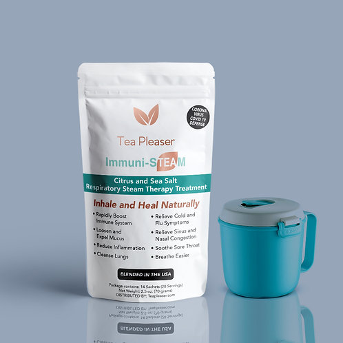Immuni-STEAM with Vent Steam Cup