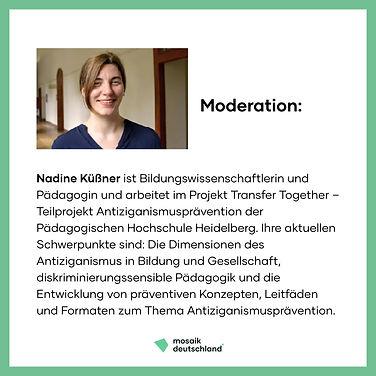 Nadine Küßner, Bildungsstudie, Podcast, Antiziganismusprävention