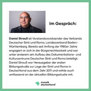 Daniel Strauß, Bildungsstudie, Podcast, Antiziganismusprävention