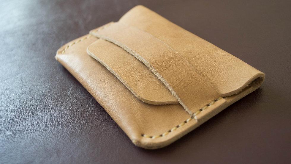 Мини - кошелёк из натуральной кожи