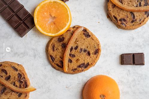 Chocolat noir - orangettes