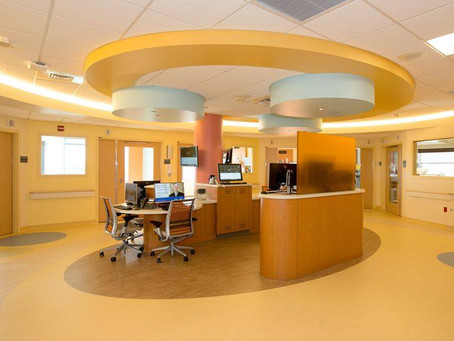 HIGGINS FLOORING shines in its installation for Yale New Haven Children's Hospital's new Sta
