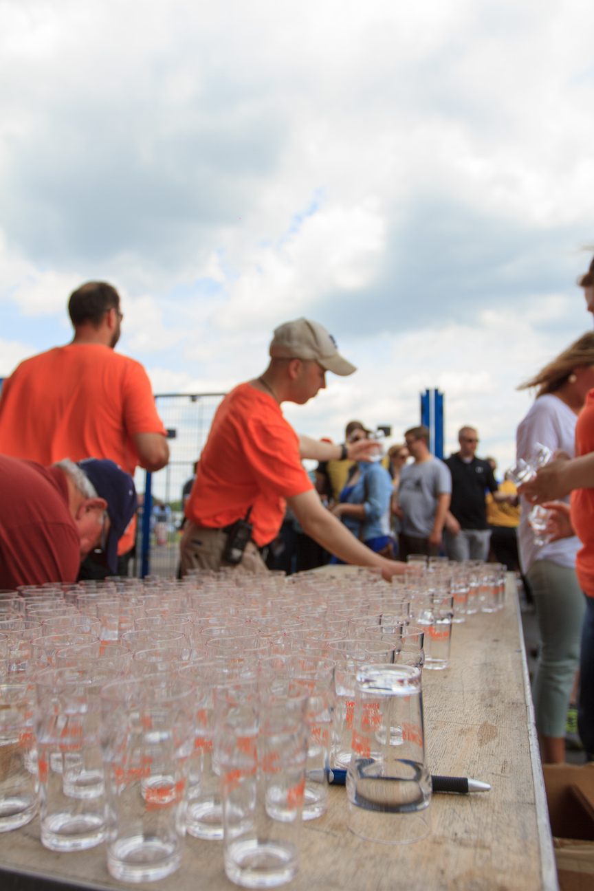 Rising Pint Brewfest Free Shwag