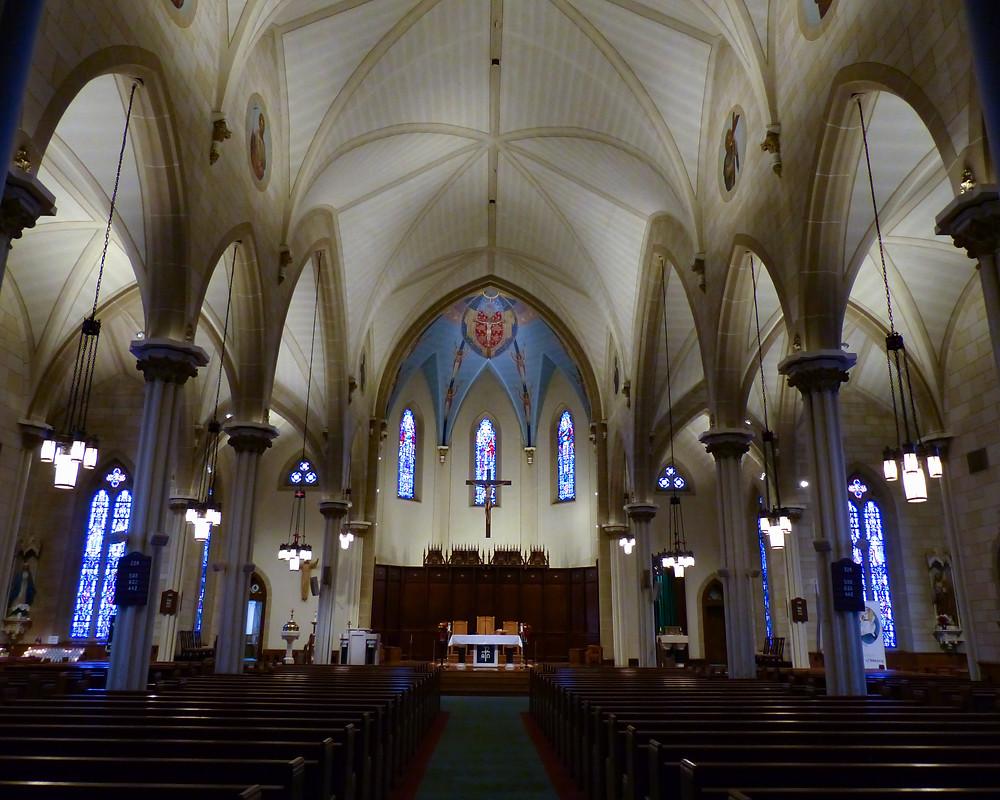 Lighting Most Holy Trinity Church Wallingford, CT
