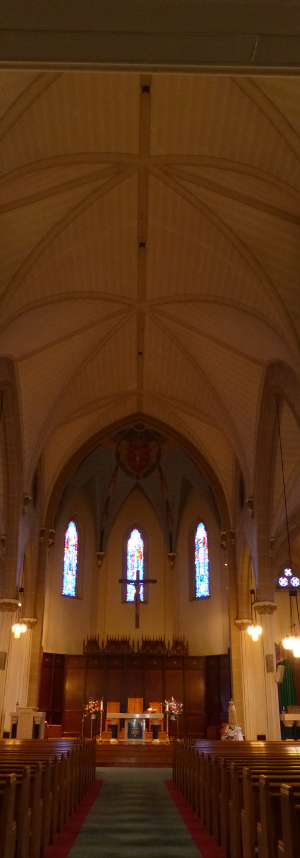 Before Ray Lighting Holy Trinity Church Wallingford, CT
