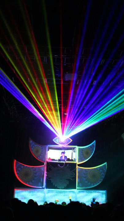 shpongle shpongletron tour lasers