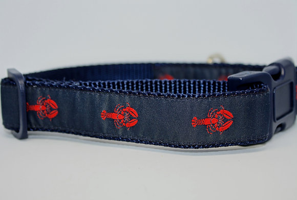 Red Lobsters With Navy on Navy