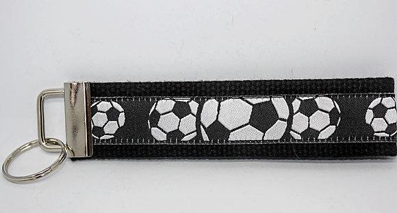 Soccer On Black