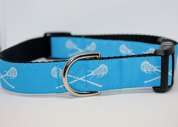 Turquoise Lacrosse On Black