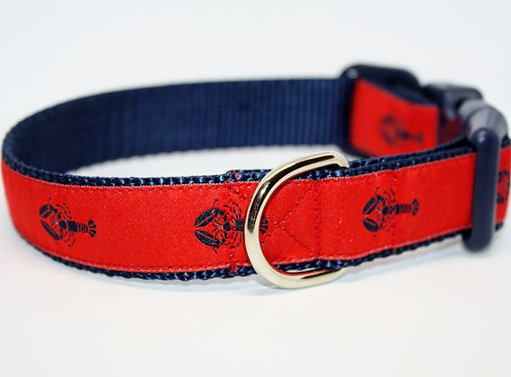 Navy Lobsters With Red on Navy