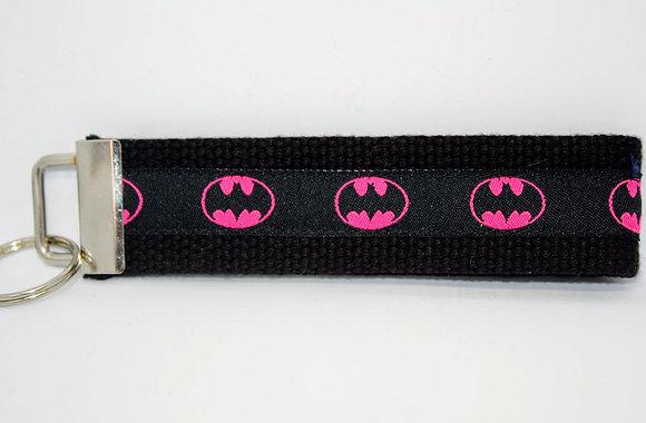 Pink Batman On Black