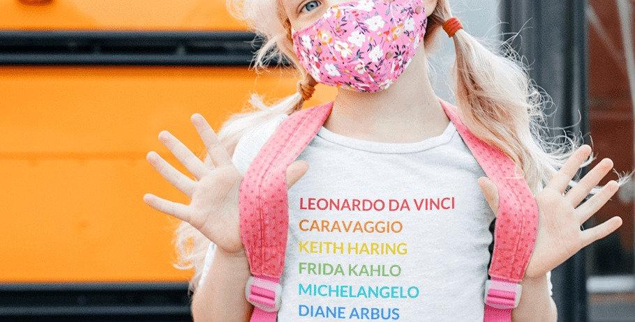 Kids' Pride Tee LGBTQ Artists
