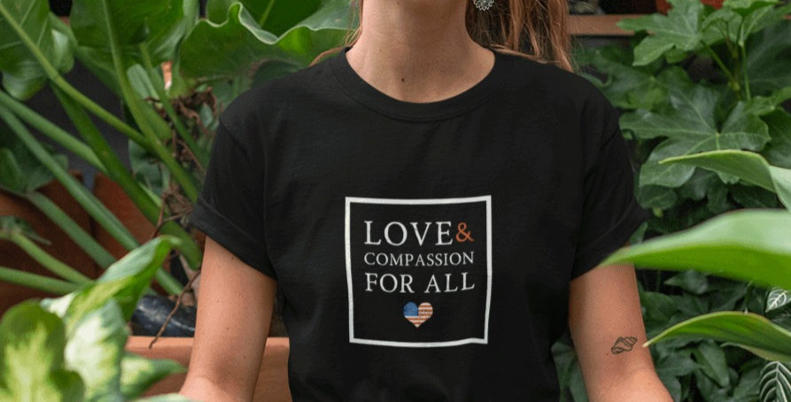 Love and Compassion For All Tee