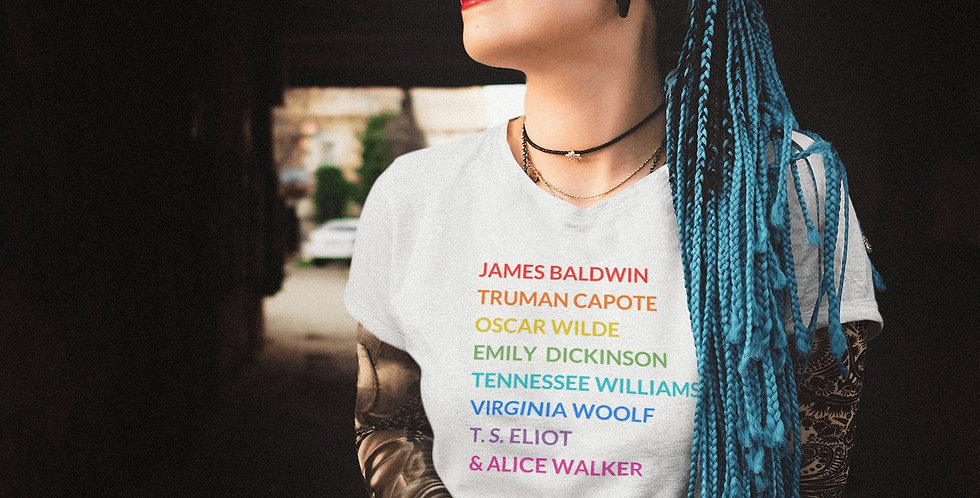 Pride LGBTQ Writers Tee