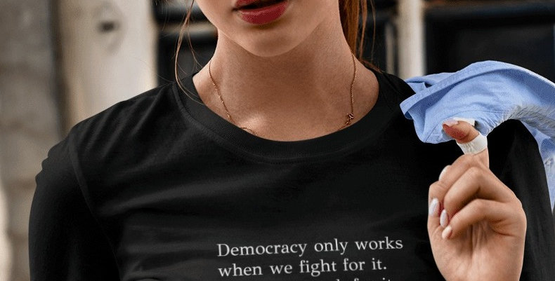 Stacey Abrams Democracy Tee