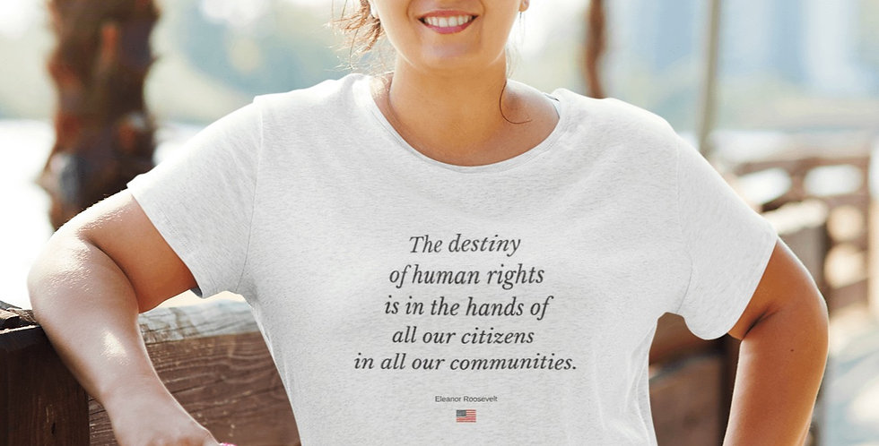Eleanor Roosevelt: The destiny of human rights...