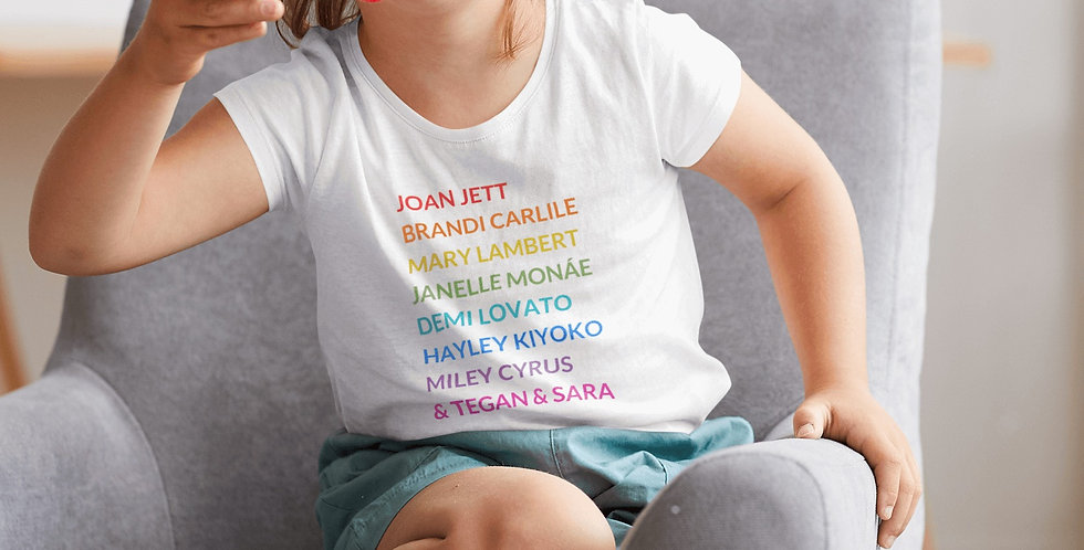 Kids' Pride Tee LGBTQ Musicians