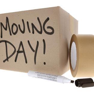 Ημέρα μετακόμισης!