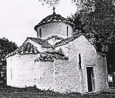 παλιά εκκλησία Αγίου Πέτρου(μέσα στ