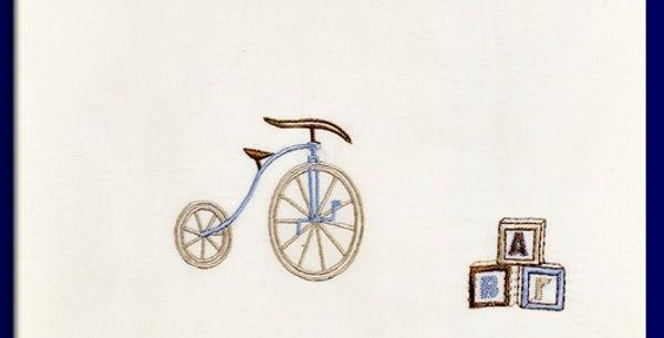 """Λαδόπανα για αγόρι """"Ποδήλατο Αντικέ """""""