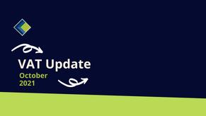 VAT Update October 2021
