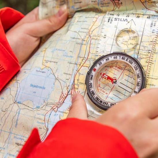 Ha det gøy med kart og kompass (8.-10.klasse)