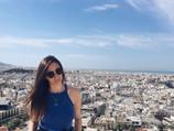 Posing At The Parthenon