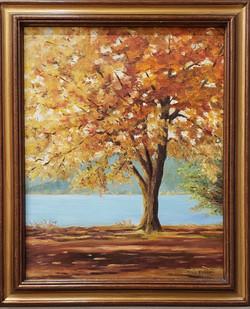 Fall in Bovee Meadow~Oil