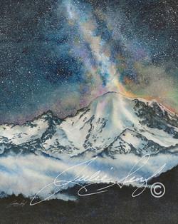 Mt Rainier Milky Way