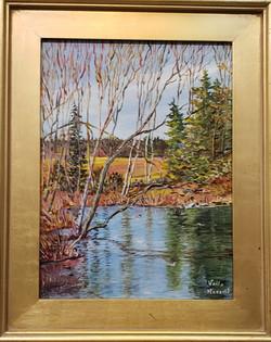 Bell Creek Pond~Acrylic