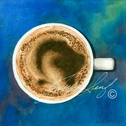 coffee blue