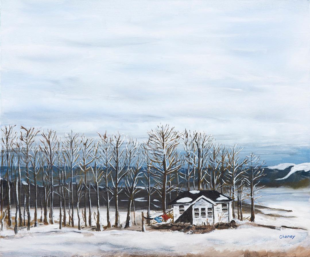 Maine Winter House