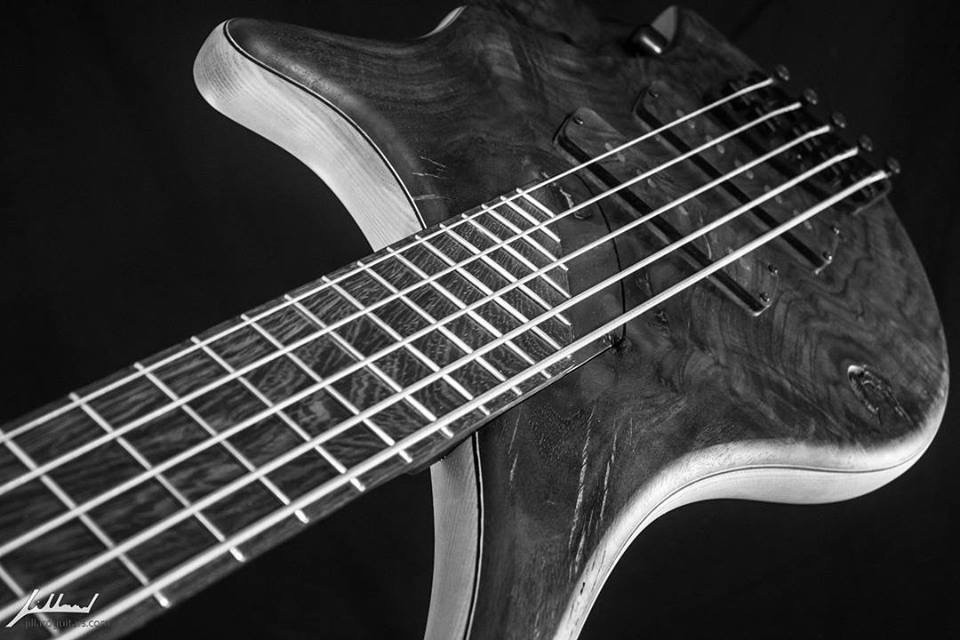 You hope your bass sounds as good as this one looks. Courtesy Jillard Guitars