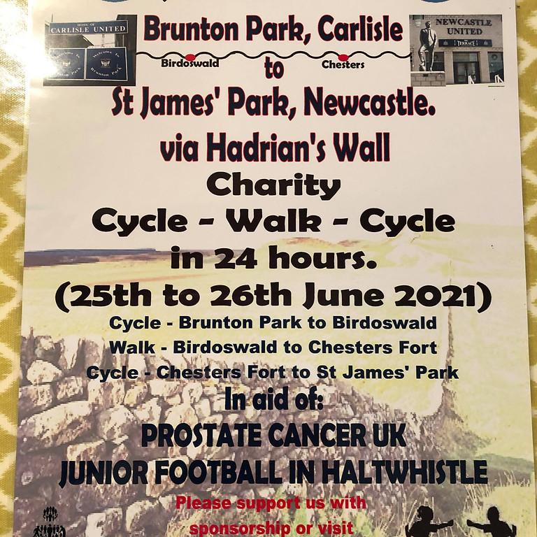 Carlisle to Newcastle challenge